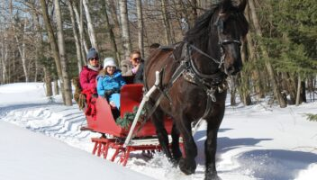 Sleigh Ride to See Santa