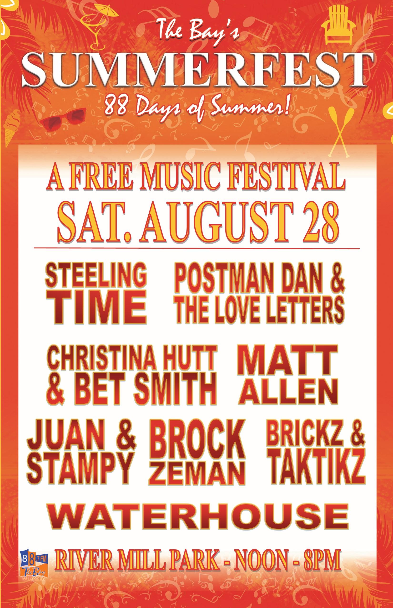 Summerfest Poster